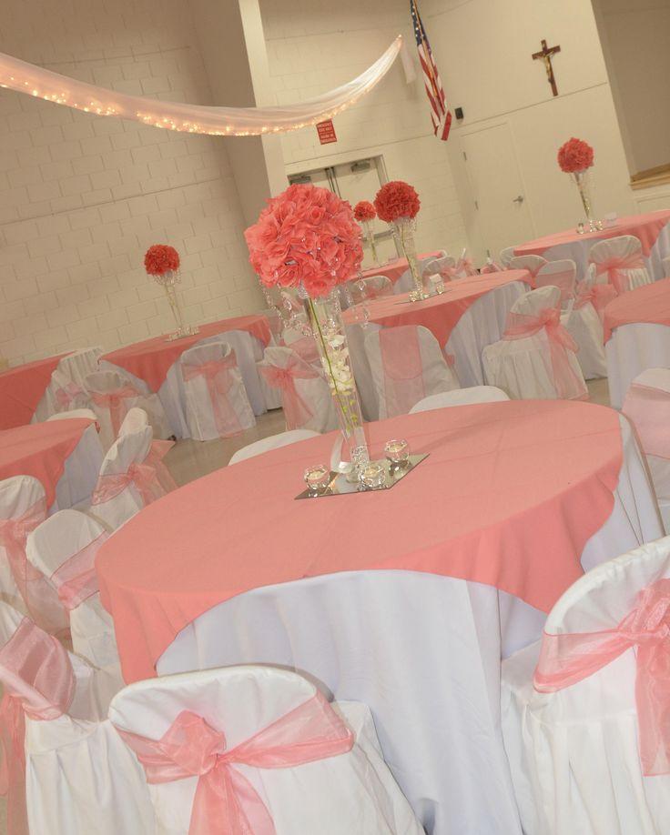 Coral Reef Color Wedding Decorations