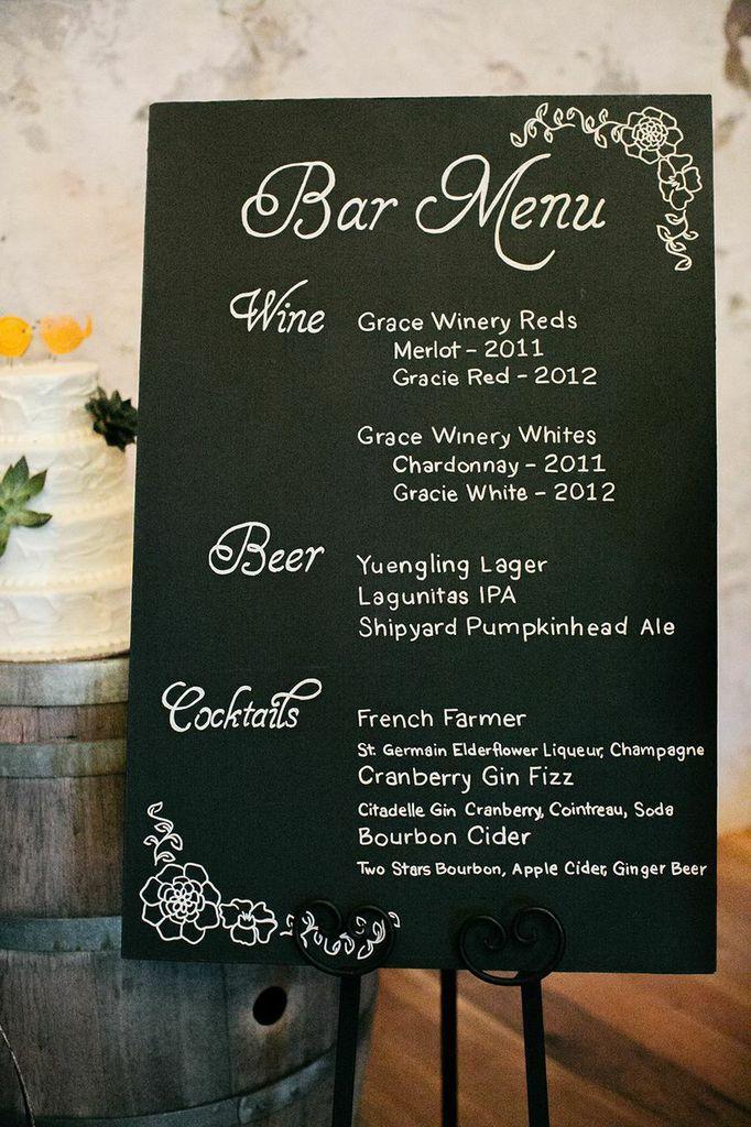 Wedding bar menu ideas 1000 ideas about fall wedding menu on emasscraft org junglespirit Choice Image