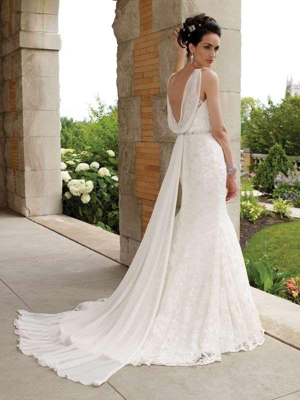 grecian style wedding dress - Wedding Decor Ideas