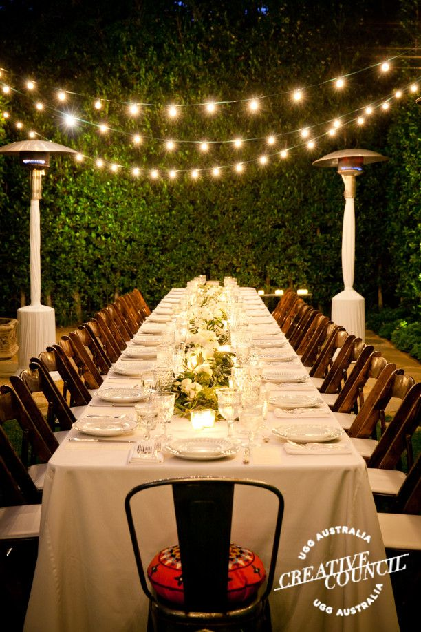 wedding dinner party ideas