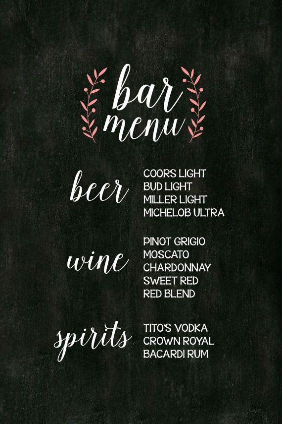 1000 Ideas About English Decor On Pinterest: 1000 Ideas About Wedding Bar Menu On Emasscraft Org