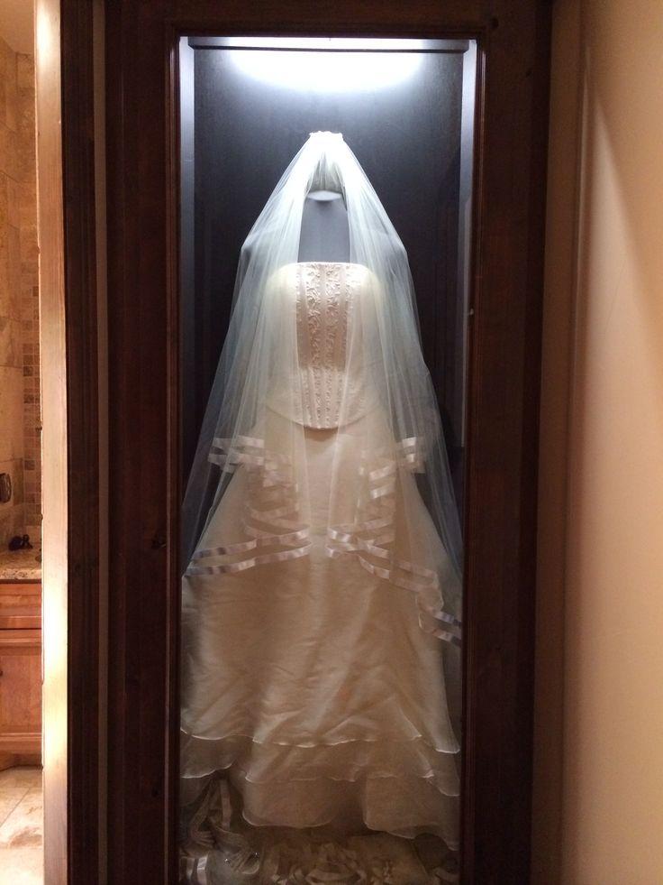 Relatively Wedding Dress Display Box Lh62