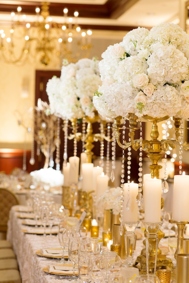 Gold And White Wedding Reception Choice Image Decoration Ideas