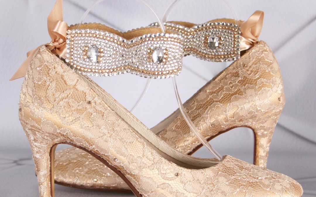 Gold wedding shoes junglespirit Image collections