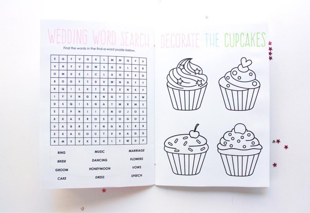 printable wedding coloring book - Coloring Book Printables