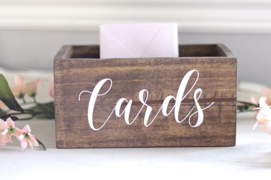 Wedding Gift Post Box: Wedding Boxes For Cards