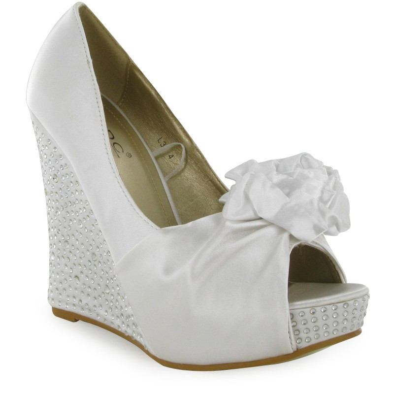 Beautiful Comfortable Wedding Shoes Wedges Gallery - Styles & Ideas ...