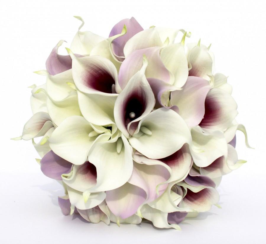 Calla Lilies Wedding Bouquet