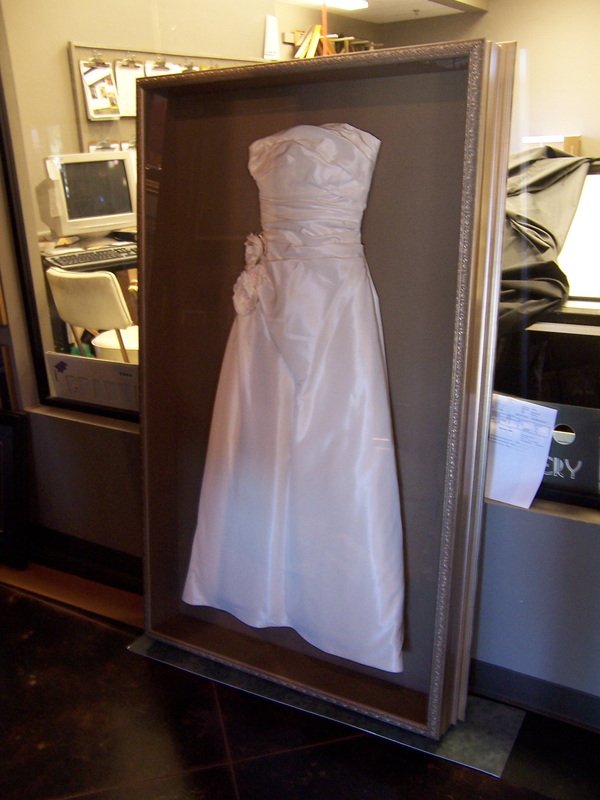 wedding dress shadow box shadow box for wedding dress 9253