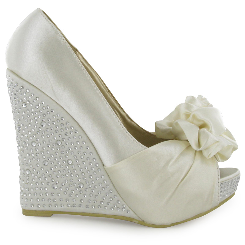 Wedding Wedges Comfortable A Gallery
