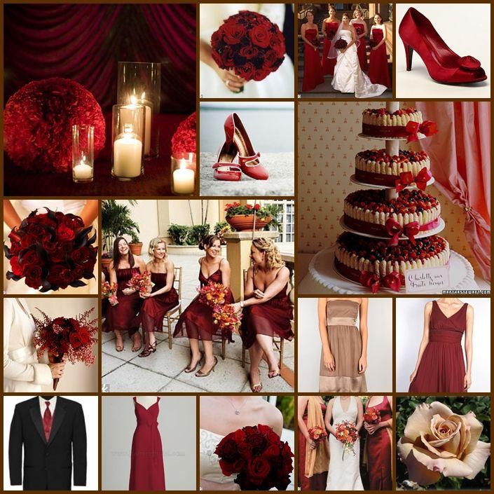 Crimson Wedding Ideas Wedding Ideas