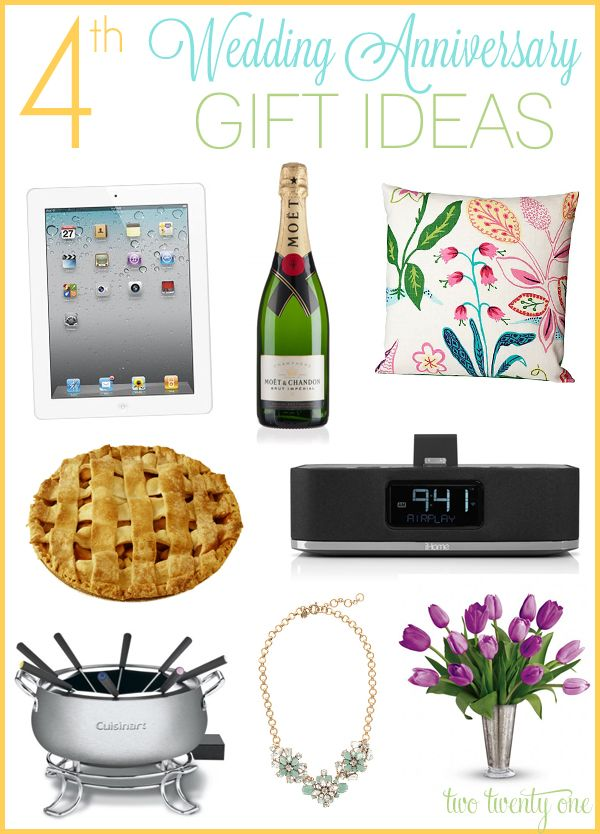 Best Fourth Wedding Anniversary Gift Ideas For Him Ideas Styles