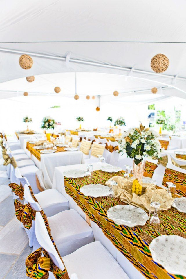 Funky Decoration For Traditional African Wedding Component Wedding