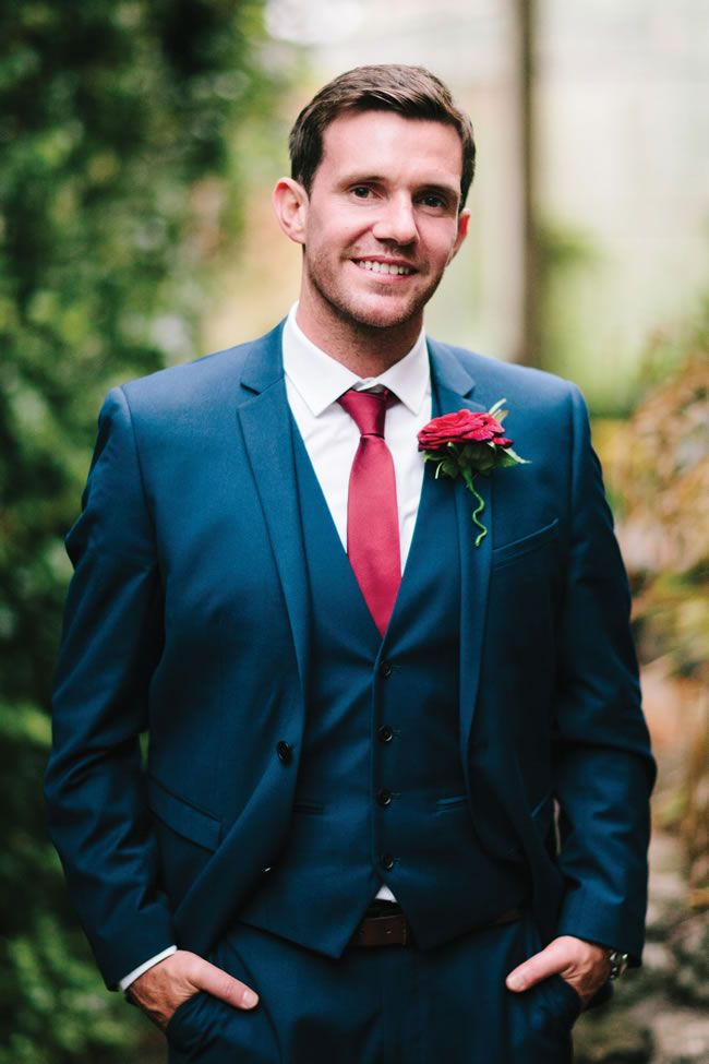 Blue Suit Wedding Ideas | Wedding Tips and Inspiration