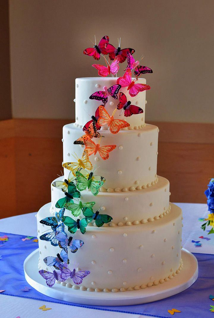 wedding cake butterfly butterfly wedding cake 22143