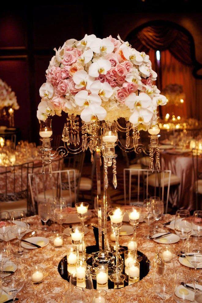 Chandelier wedding centerpieces 1000 ideas about candelabra wedding centerpieces on emasscraft org aloadofball Gallery