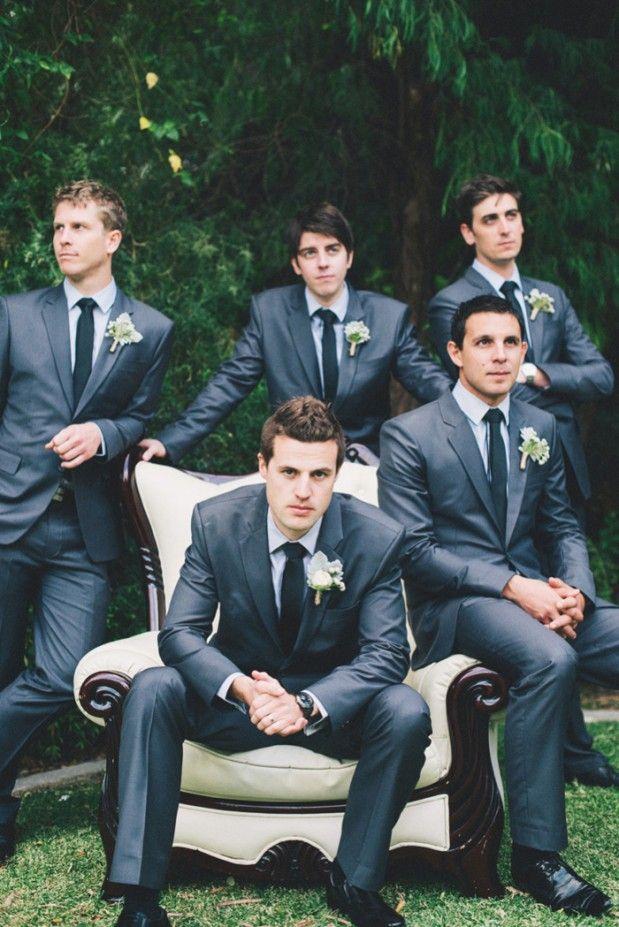 Best Dark Grey Wedding Suit Pictures - Styles & Ideas 2018 ...
