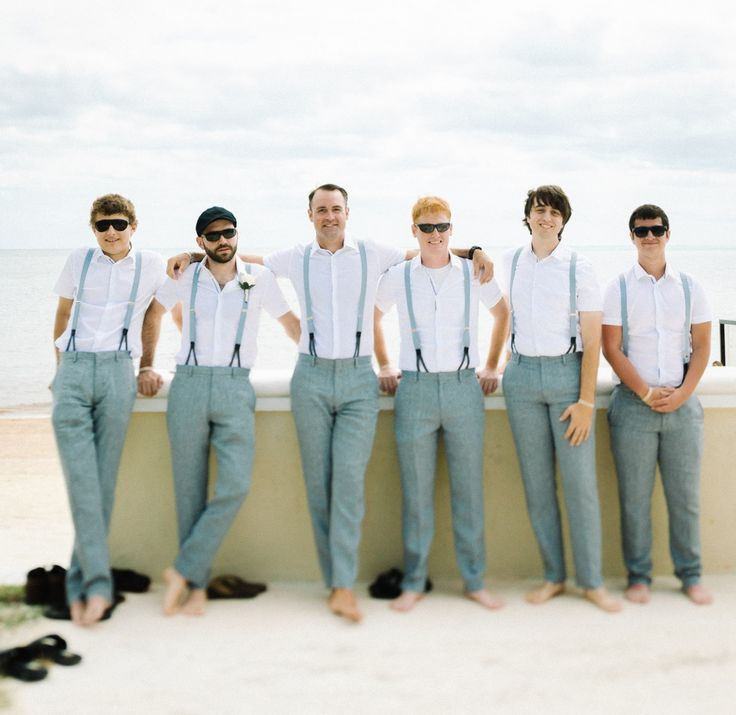 Groomsmen Beach Wedding Attire