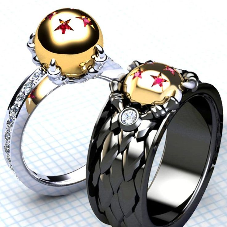 Dragon Ball Z Wedding Ring