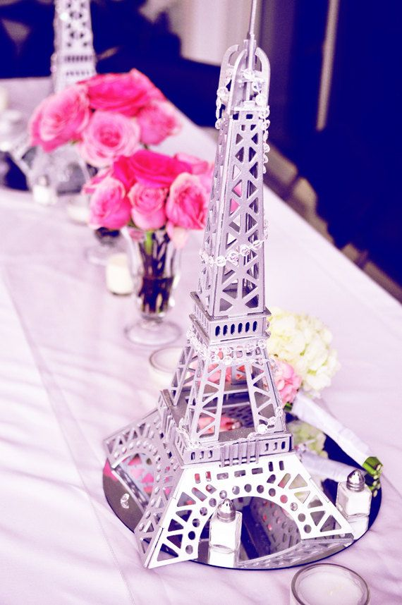 Eiffel tower wedding centerpieces ideas 1000 ideas about eiffel tower centerpiece on emasscraft org junglespirit Images
