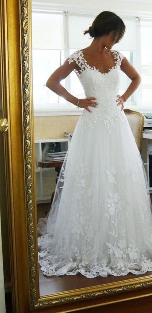 Outstanding Wedding Dresses On Pinterest Photo - Wedding Plan Ideas ...
