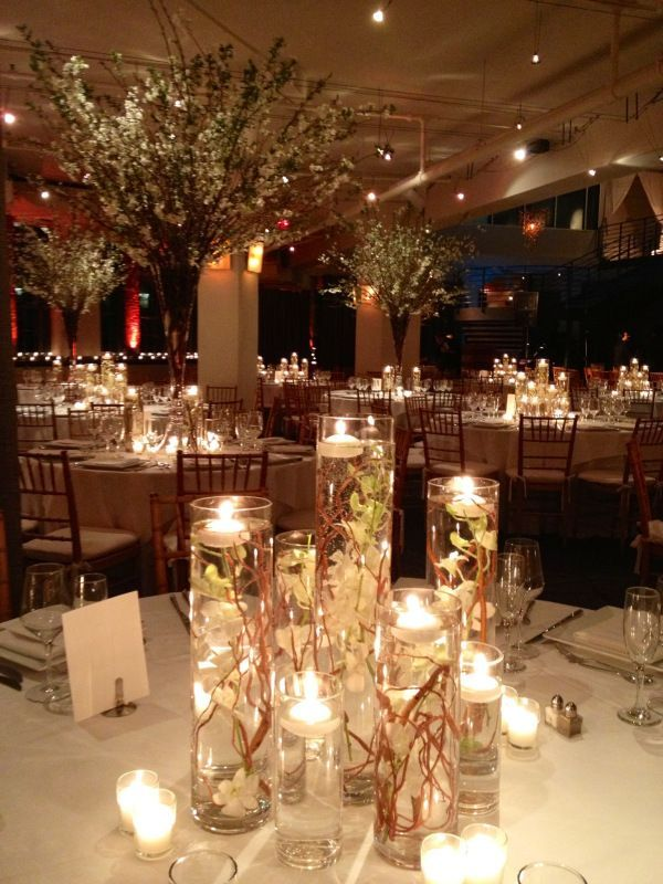 Floating candles wedding centerpieces ideas wedding decor ideas wedding vases with floating candles junglespirit Images