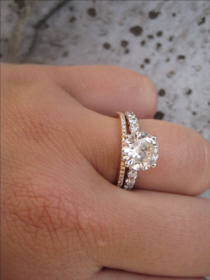 Engagement Ring In 14k White Gold Pear 1000 Ideas About Mismatched Wedding Bands On Emasscraft Org