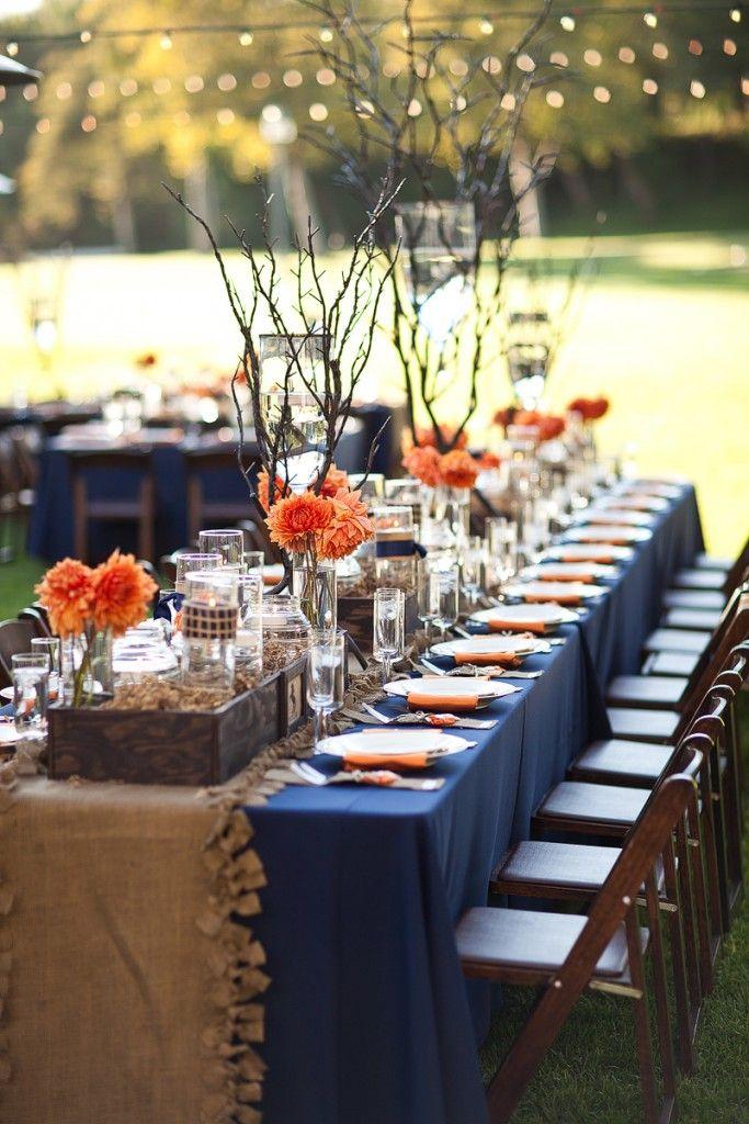 1000 Ideas About Navy Orange Weddings On Emasscraft Org & Burlap And Navy Wedding