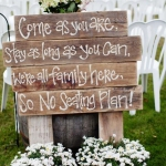 Pallet Wedding Decor