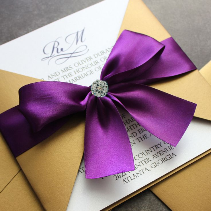 Purple and gold wedding decor junglespirit Choice Image