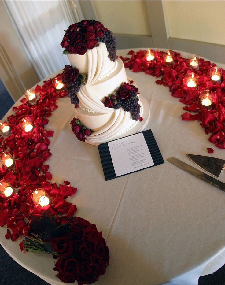 Deep Red Wedding Theme Images Wedding Decoration Ideas