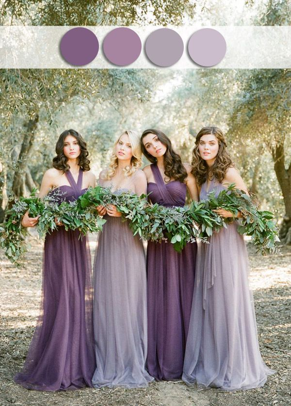 1000 Ideas About Shades Of Purple On Emasscraft Org 5 Different Wedding Colors