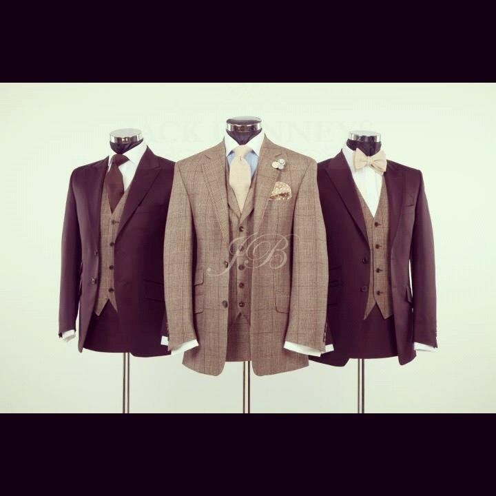 Tweed Suit Wedding