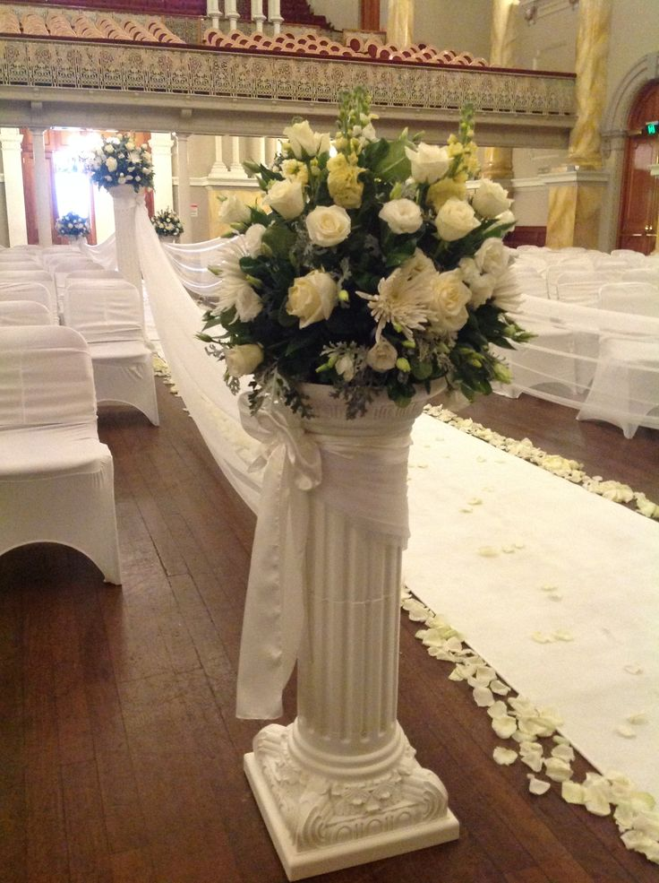 Column decorations for wedding images wedding decoration ideas wedding decorations with columns solutioingenieria Image collections