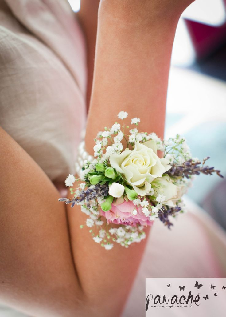White Flower Corsage Bracelet Gallery Flower Decoration
