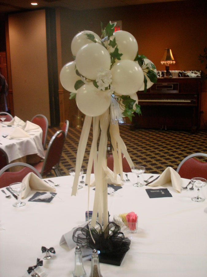 Wedding Balloon Decoration Ideas Wedding Balloon Table Decorations
