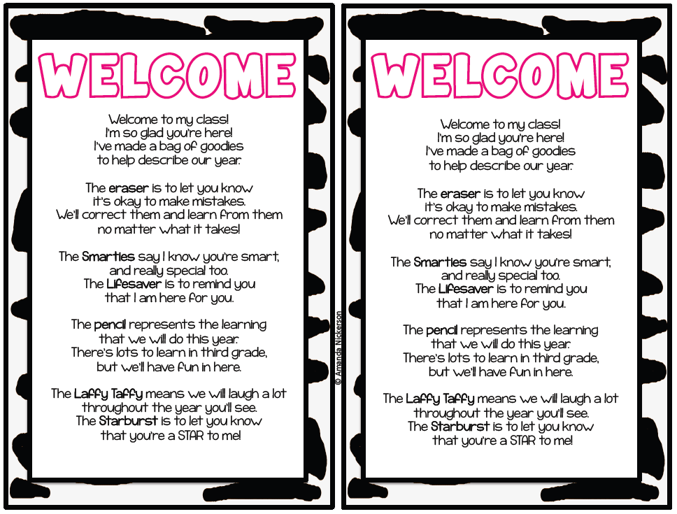 Inspiration latest welcome back to school letter template large size welcome letter from teacher thecheapjerseys Images