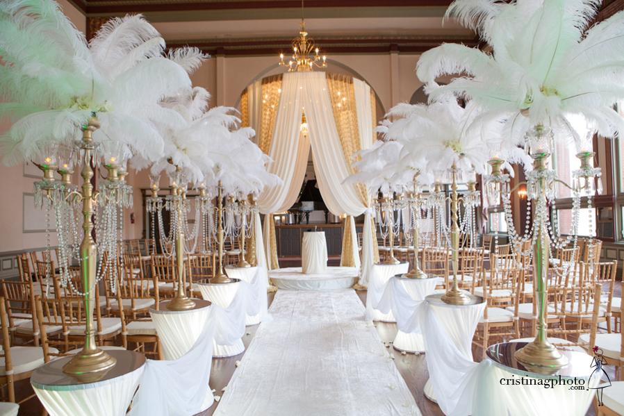 Great gatsby wedding centerpieces 1000 images about glam wedding ideas on emasscraft org junglespirit Choice Image