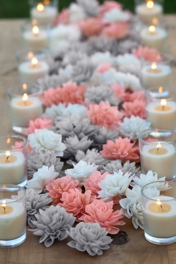 Grey Wedding Table