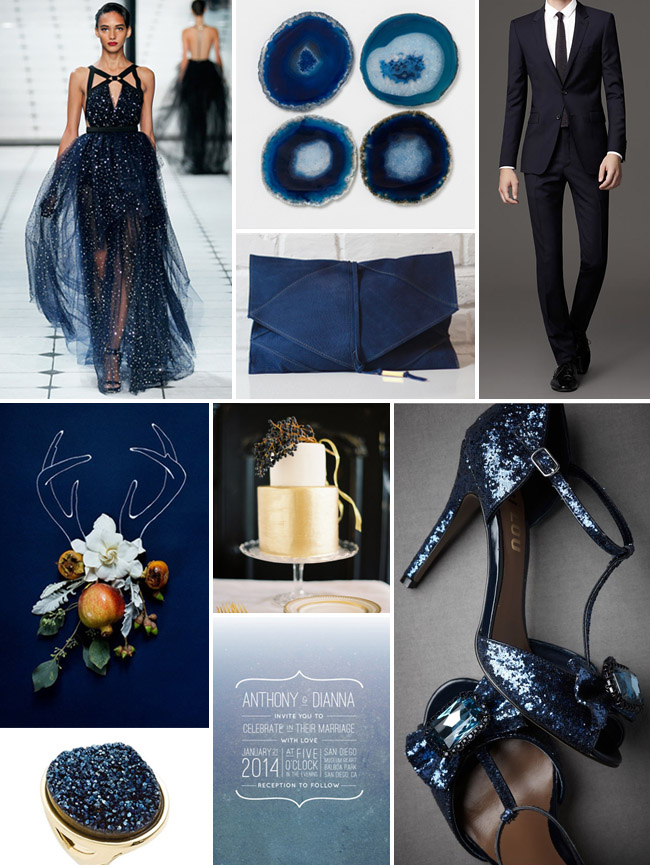 1000 Images About Midnight Blue Gold