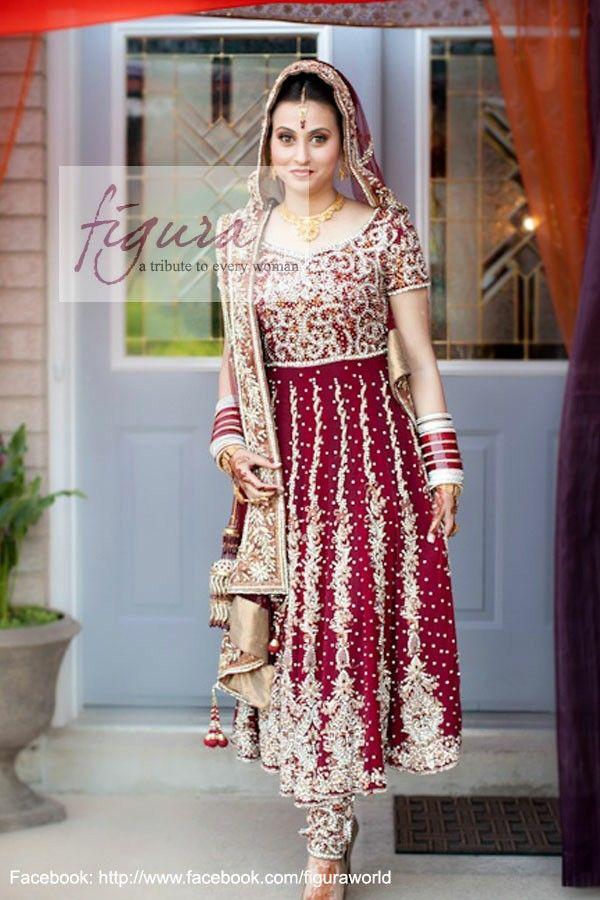 Awesome Punjabi Marriage Pink Suit Pattern - Wedding Ideas - nilrebo ...