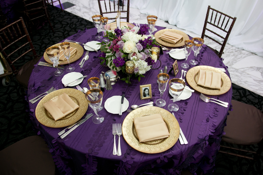 1000 Images About Purple And Gold Table Settings On Emasscraft Org