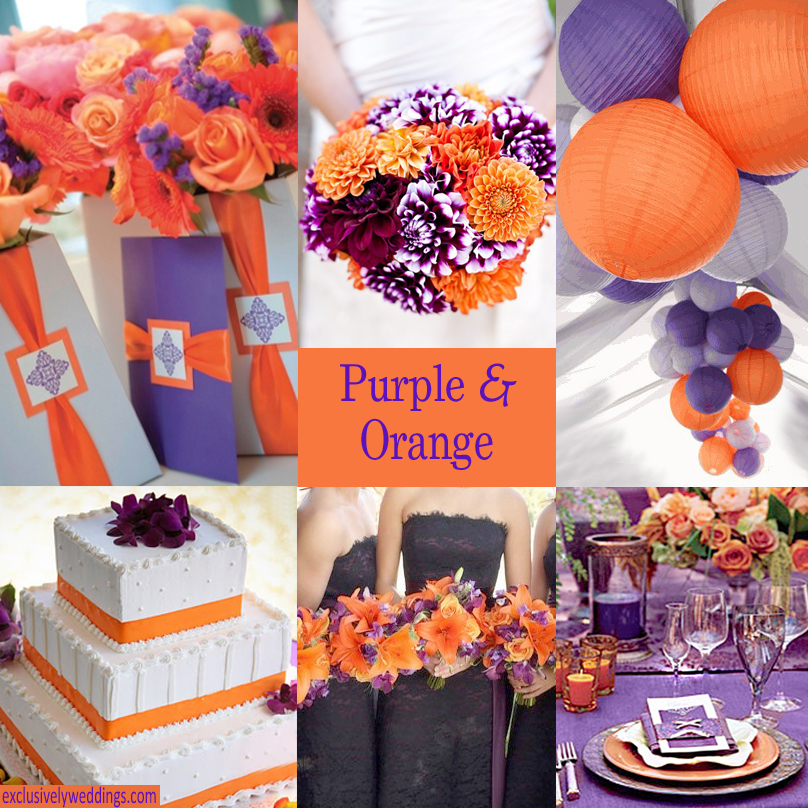Purple And Brown Wedding Purple And Brown Wedding With Purple And
