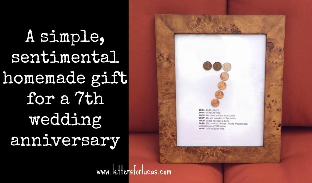 7 Wedding Anniversary Ideas