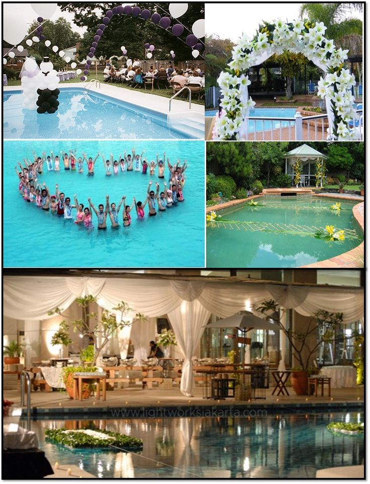 1000 Images About Swimming Pool Wedding On Emasscraft Org
