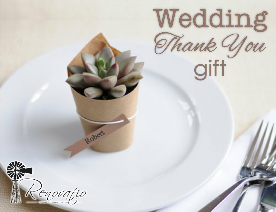 Wedding Gift Souvenir Ideas: Wedding Thank You Gifts