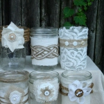 Mason Jar Decorations For A Wedding