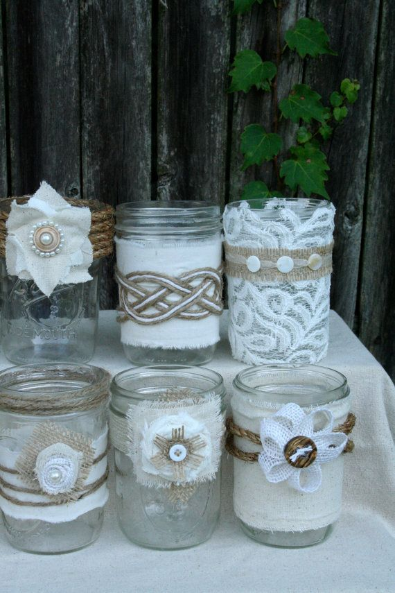 1000 Images About Wedding Shower Centerpieces In Mason Jars