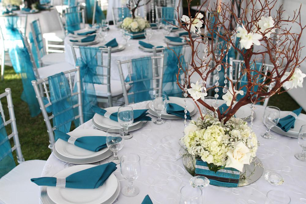 White And Turquoise Wedding Theme Wedding Ideas