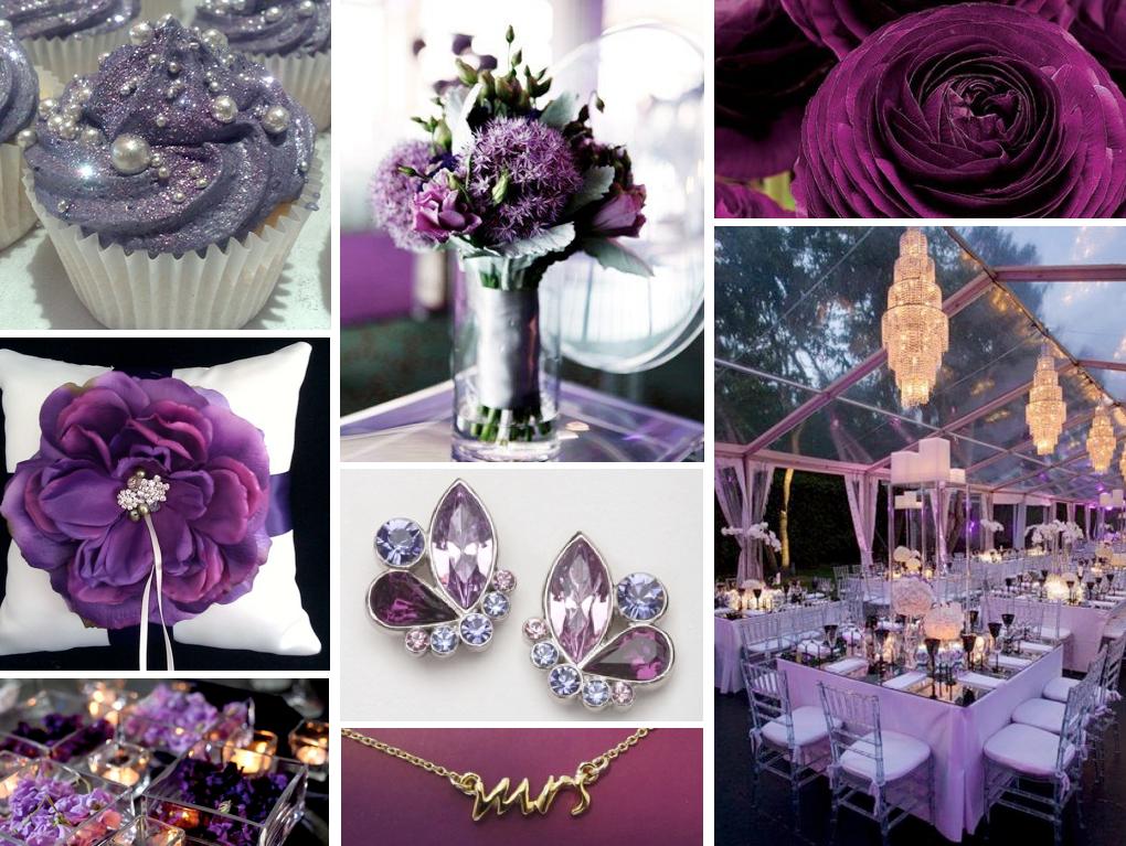Lilac And Silver Wedding Themes Fashion Dresses